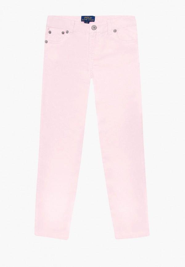 брюки polo ralph lauren для девочки, розовые