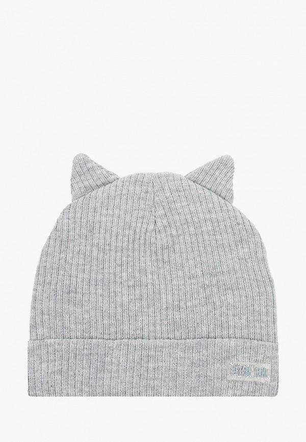 шапка acoola для девочки, серая