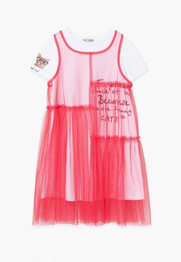 Платья для девочки Bell Bimbo цвет красный