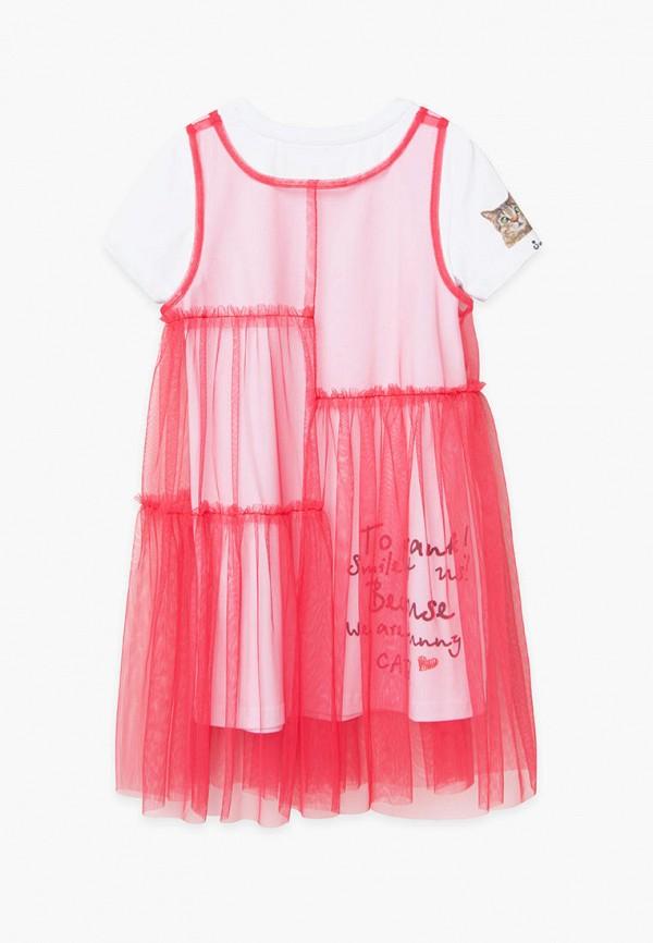 Платья для девочки Bell Bimbo цвет красный  Фото 2