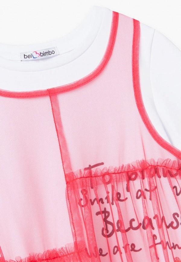 Платья для девочки Bell Bimbo цвет красный  Фото 3