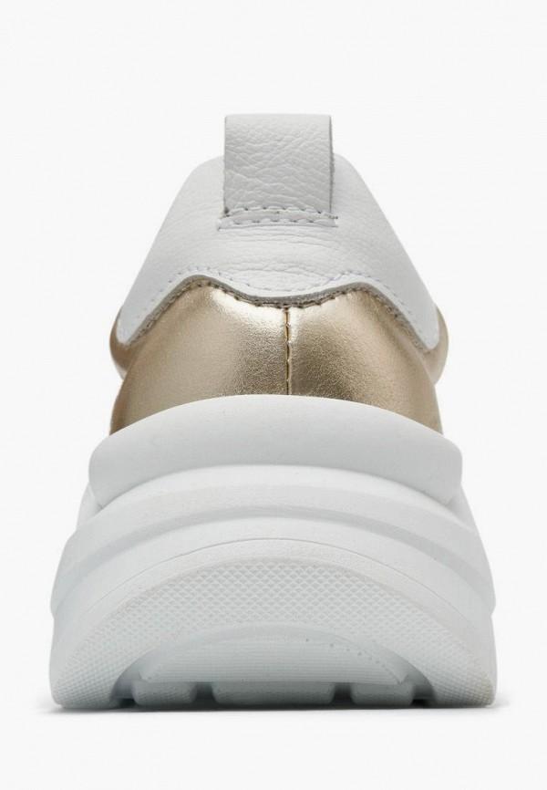 Кроссовки для девочки Alessio Nesca цвет золотой  Фото 5