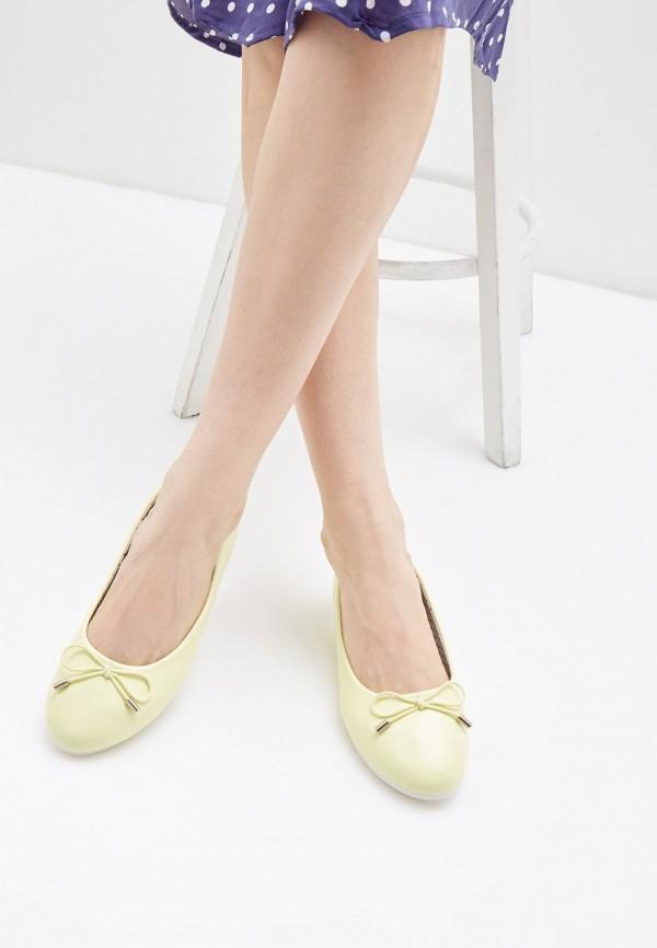 Балетки для девочки Zenden First цвет желтый  Фото 6