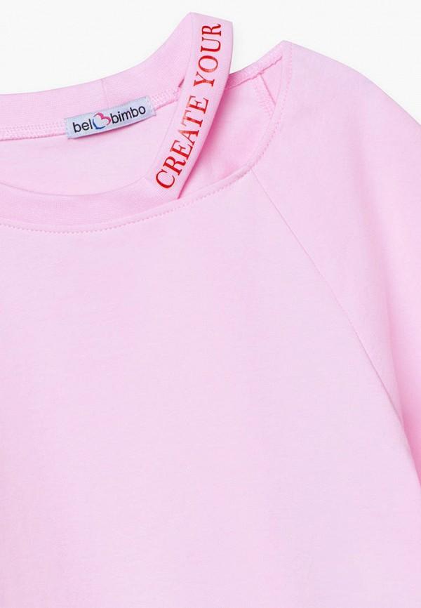 Футболка Bell Bimbo цвет розовый  Фото 3