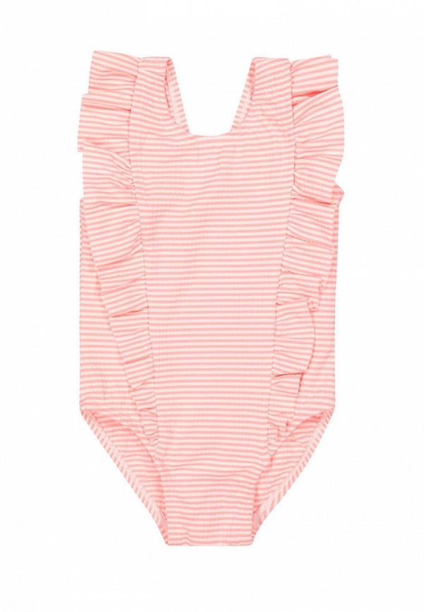 Детский купальник Mothercare цвет розовый