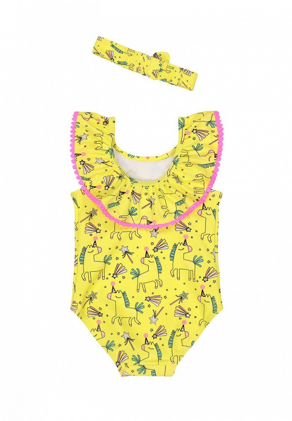 Детский купальник Mothercare цвет желтый  Фото 2