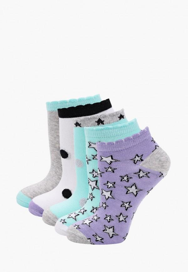 носки айас для девочки, разноцветные