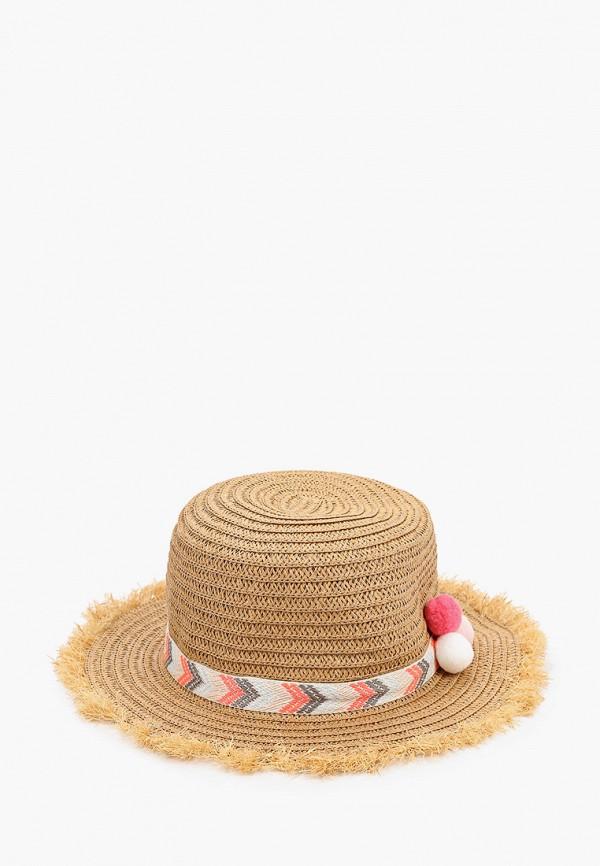 шляпа playtoday для девочки, бежевая