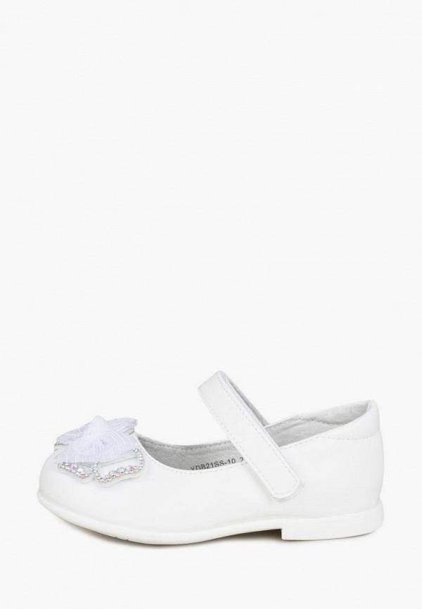 Туфли для девочки Honey Girl цвет белый