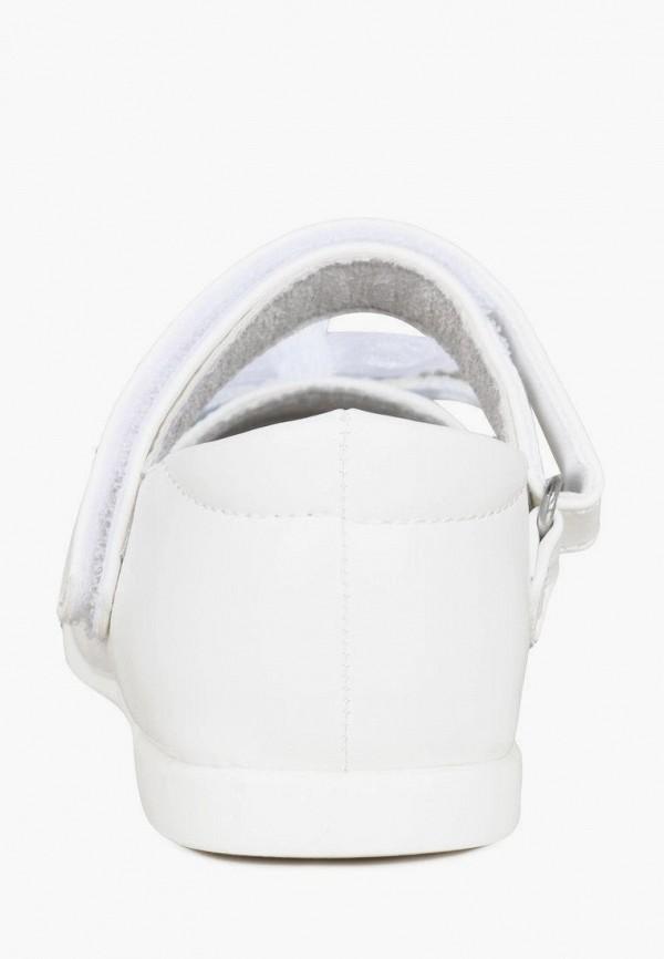 Туфли для девочки Honey Girl цвет белый  Фото 4