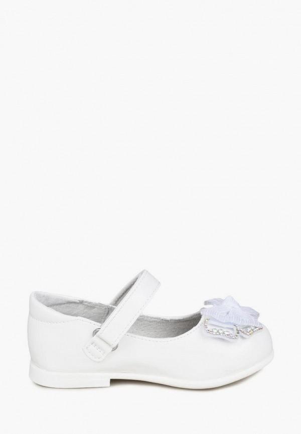 Туфли для девочки Honey Girl цвет белый  Фото 6