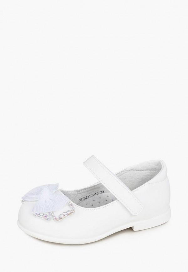 Туфли для девочки Honey Girl цвет белый  Фото 7