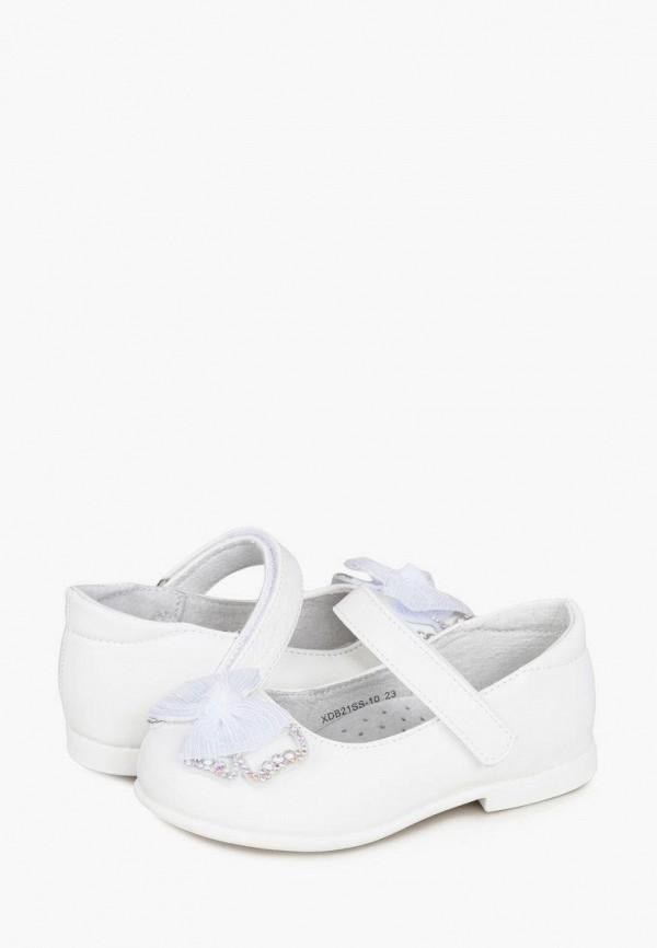 Туфли для девочки Honey Girl цвет белый  Фото 8