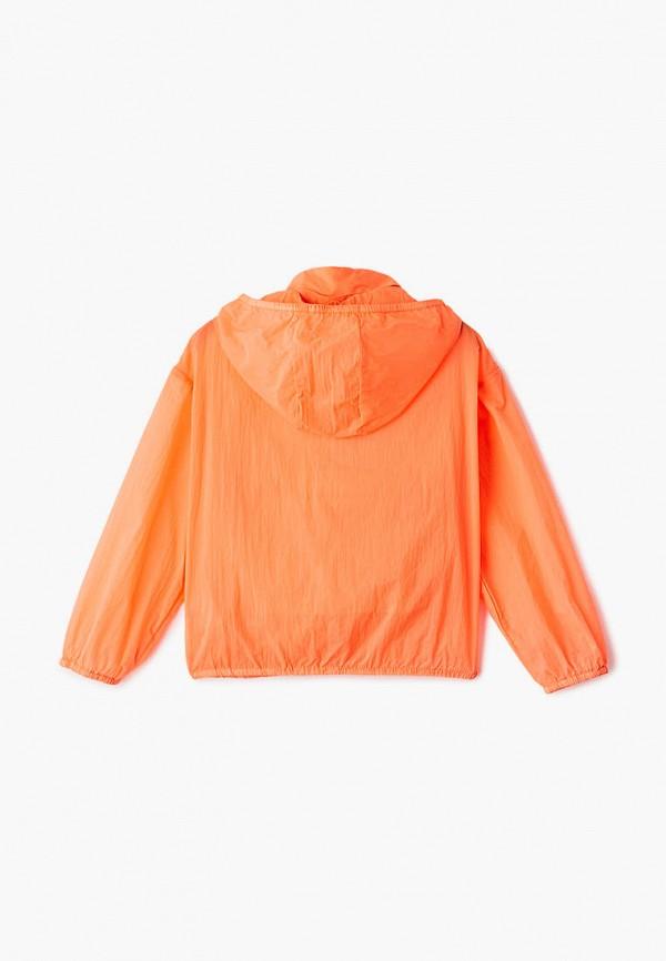 Ветровка для девочки Sela цвет оранжевый  Фото 2