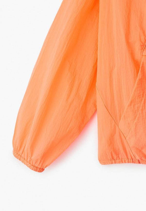 Ветровка для девочки Sela цвет оранжевый  Фото 3