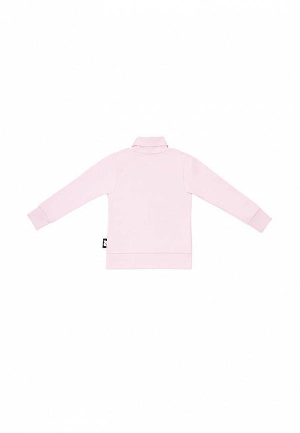 Водолазка для девочки bodo цвет розовый  Фото 2