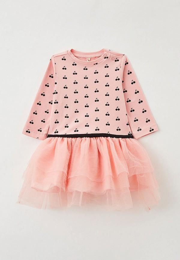 нарядные платье coccodrillo для девочки, розовое