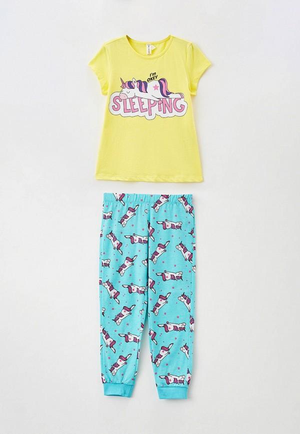 пижама defacto для девочки, разноцветная