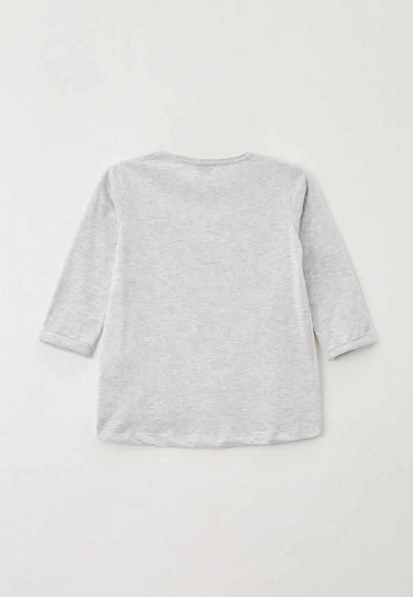 Лонгслив для девочки O'stin цвет серый  Фото 2