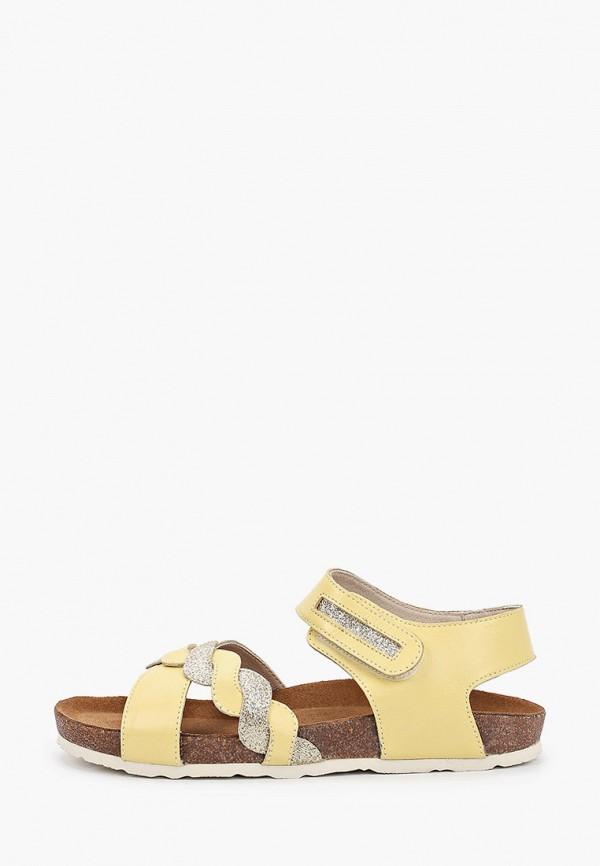 сандалии ralf ringer для девочки, желтые