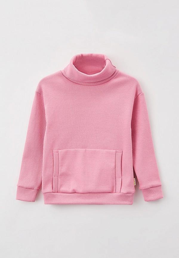 свитшот looklie для девочки, розовый