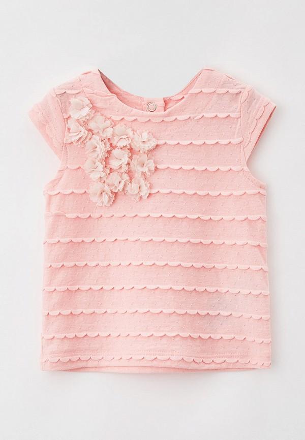 блузка coccodrillo для девочки, розовая