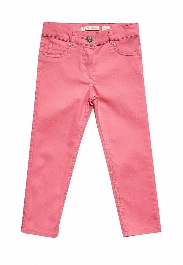 брюки elsy для девочки, розовые