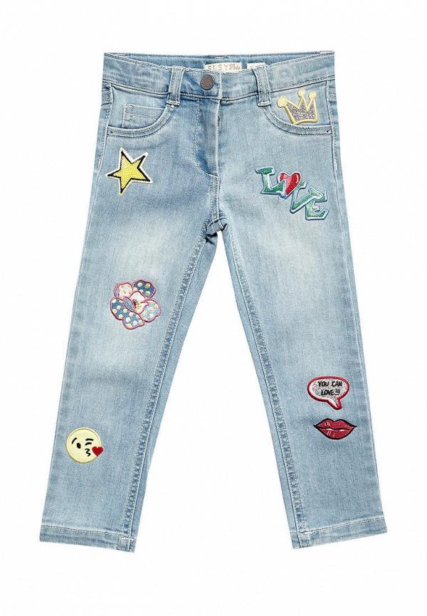 джинсы elsy для девочки, синие