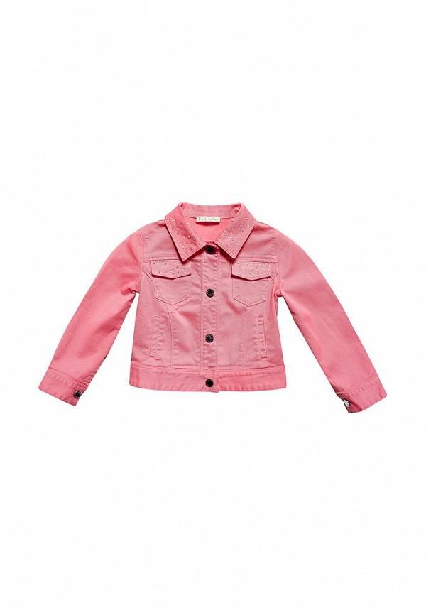 куртка elsy для девочки, розовая