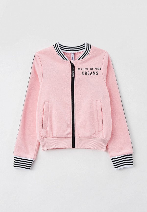 олимпийка playtoday для девочки, розовая