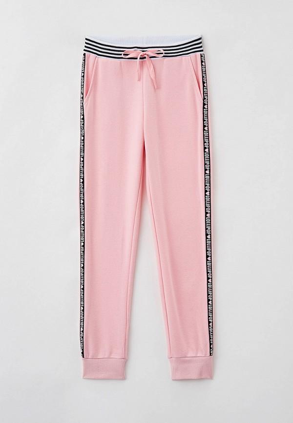 спортивные брюки playtoday для девочки, розовые
