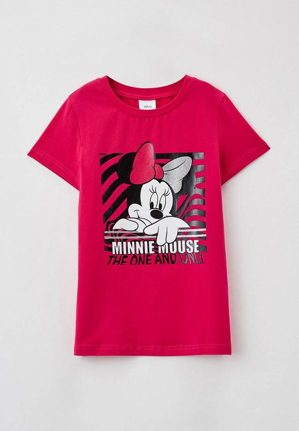 футболка с коротким рукавом playtoday для девочки, розовая