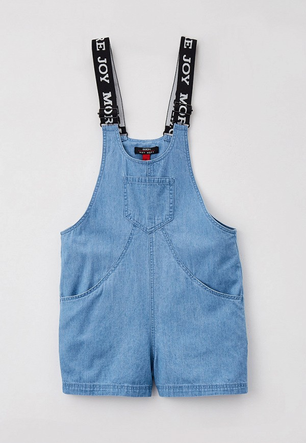 комбинезон с брюками baon для девочки, голубой