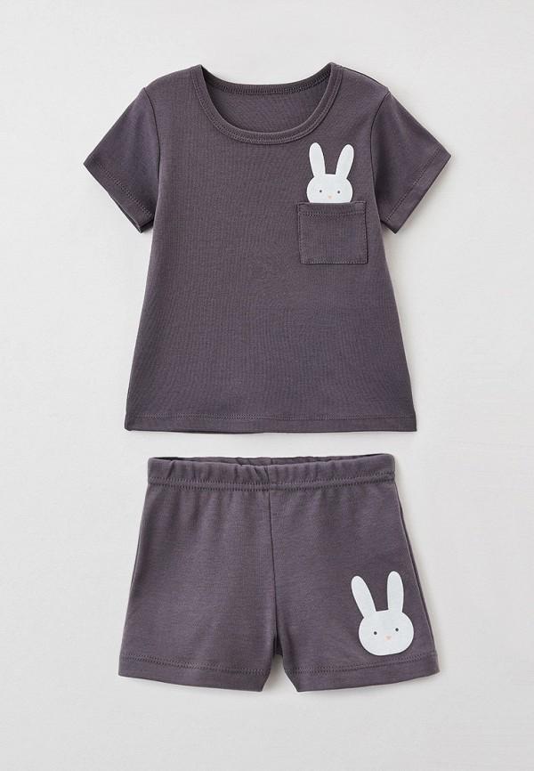 Пижама для девочки КотМарКот цвет серый