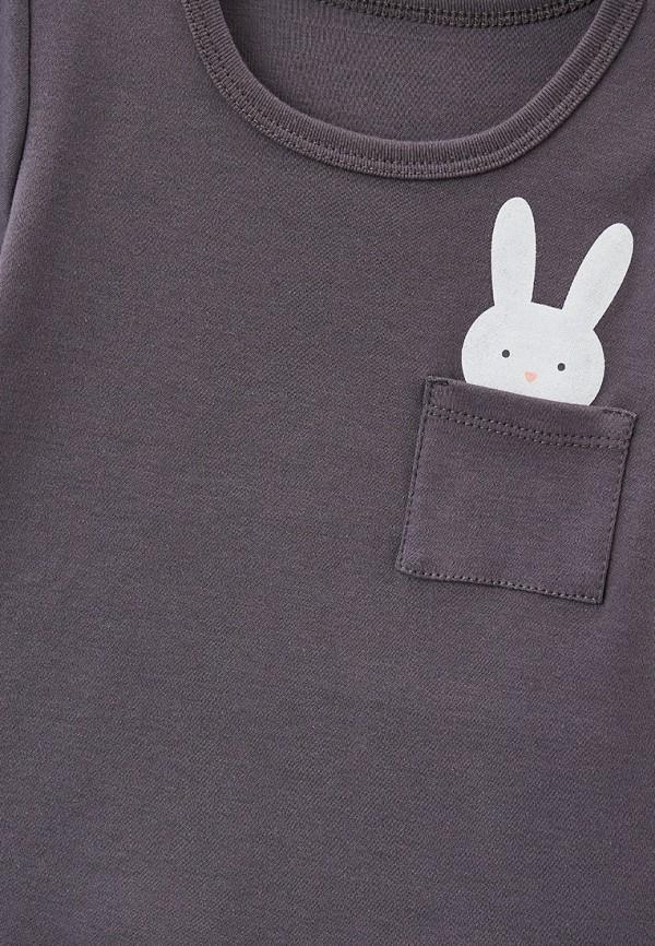 Пижама для девочки КотМарКот цвет серый  Фото 3