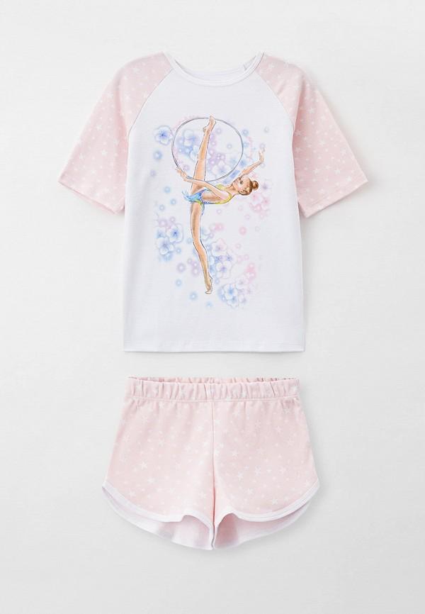 пижама wildwins для девочки, разноцветная