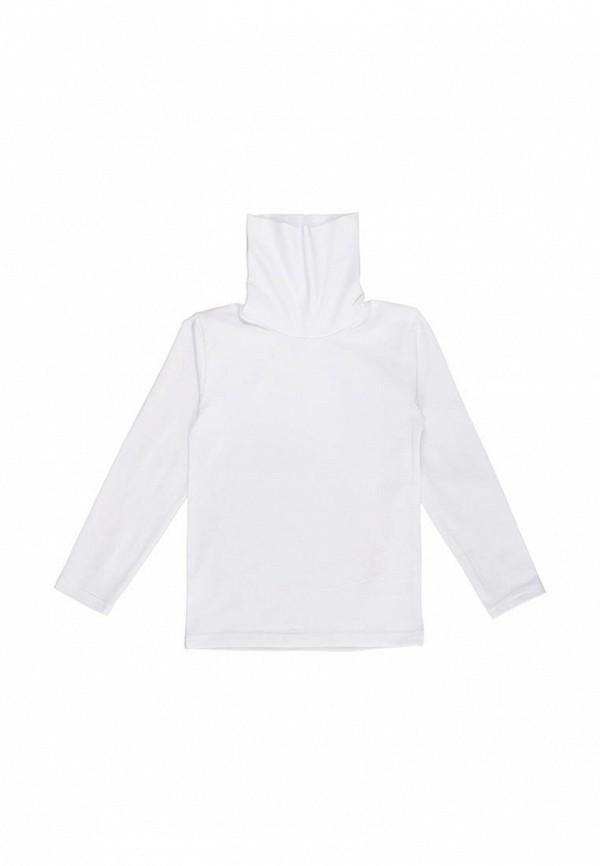 водолазка фламинго текстиль для девочки, белая