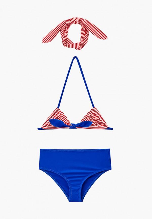 купальник emdi для девочки, разноцветный