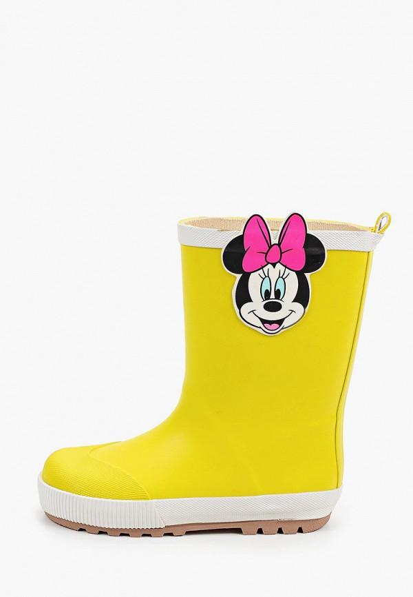 резиновые сапоги playtoday для девочки, желтые