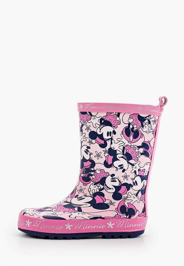 резиновые сапоги playtoday для девочки, розовые