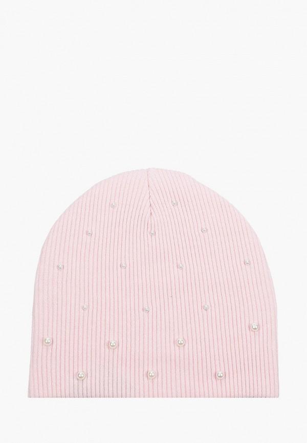 шапка acoola для девочки, розовая
