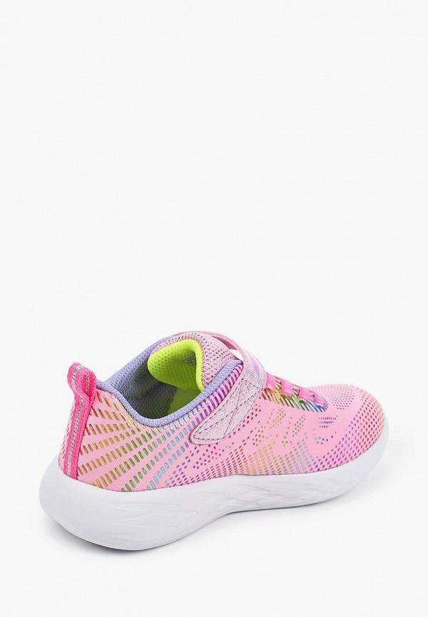 Кроссовки для девочки Skechers цвет розовый  Фото 3