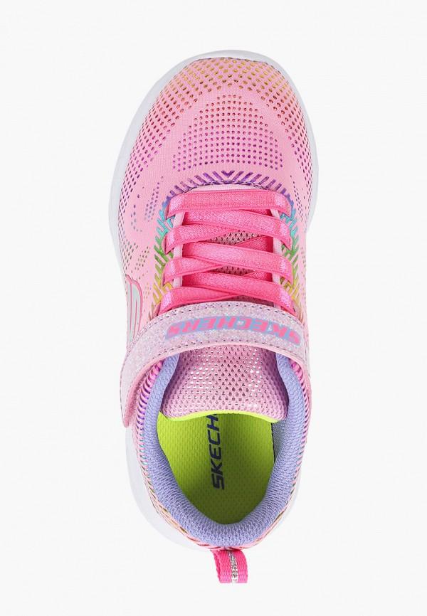 Кроссовки для девочки Skechers цвет розовый  Фото 4