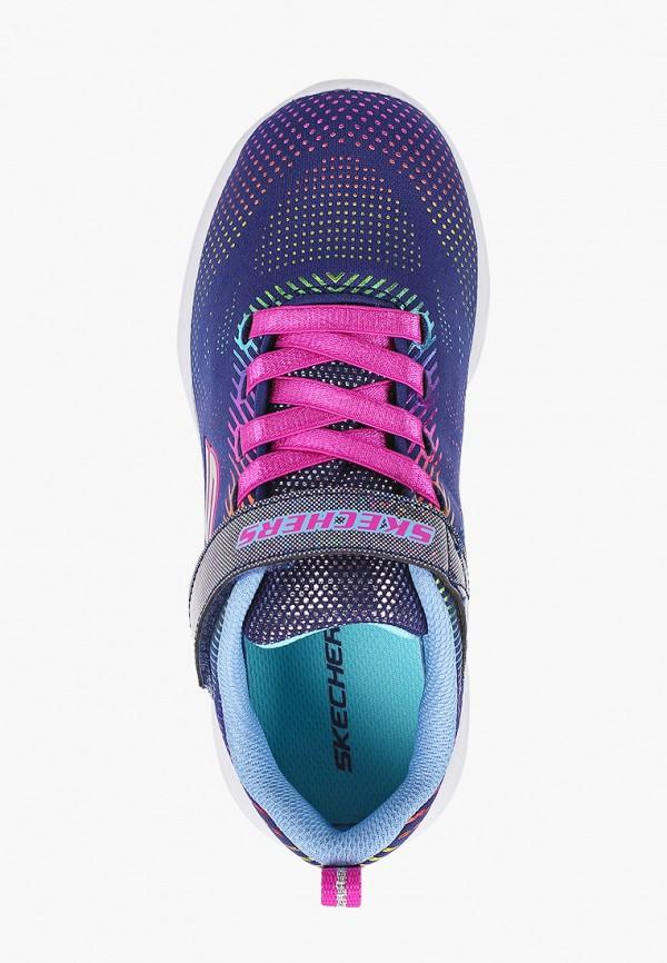 Кроссовки для девочки Skechers цвет синий  Фото 4