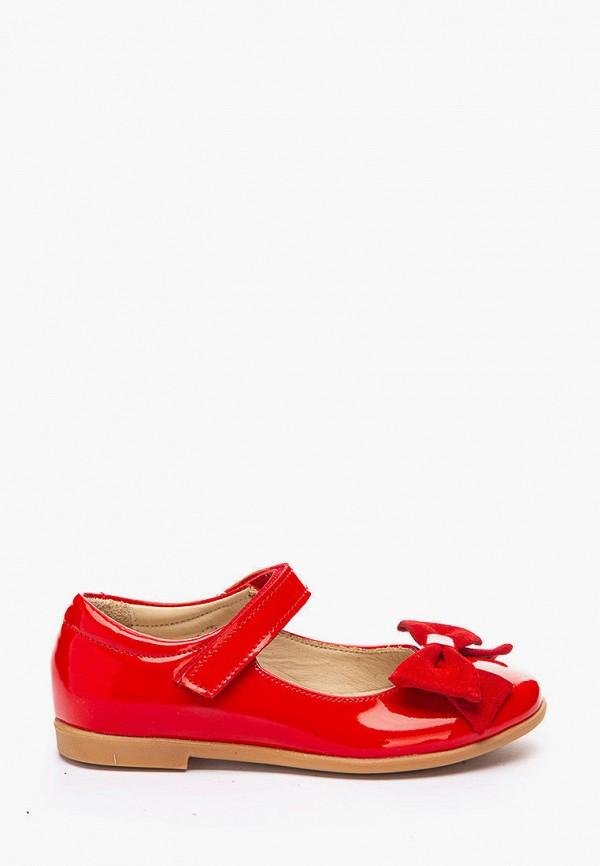 туфли theo leo для девочки, красные