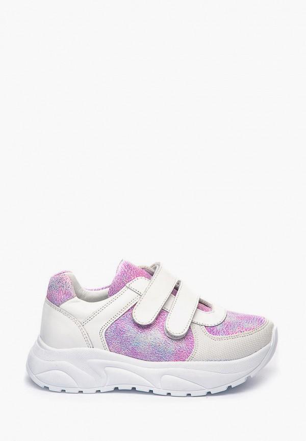 кроссовки theo leo для девочки, белые