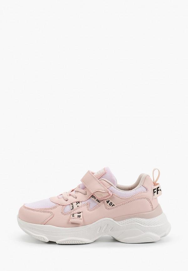 кроссовки shuzzi для девочки, розовые