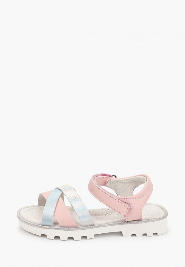 сандалии shuzzi для девочки, розовые