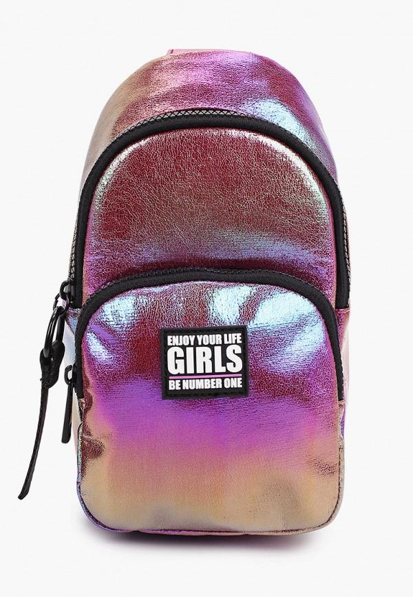 рюкзак acoola для девочки, фиолетовый