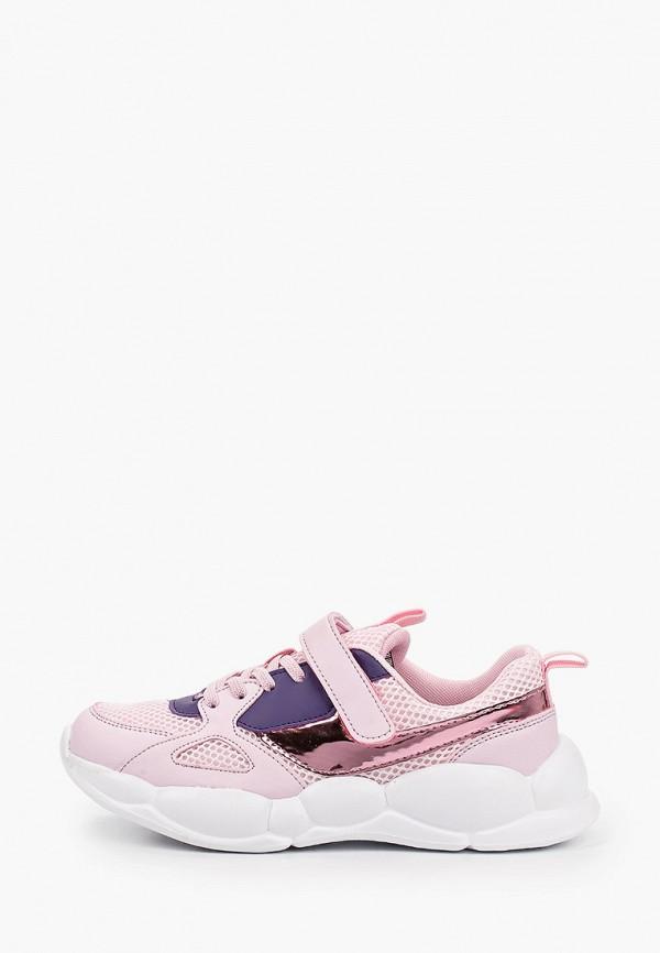 кроссовки zenden first для девочки, розовые
